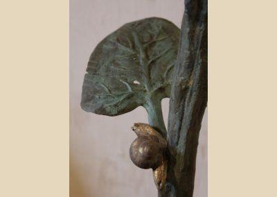sculpture pierre bronze charente nouvelle aquitaine