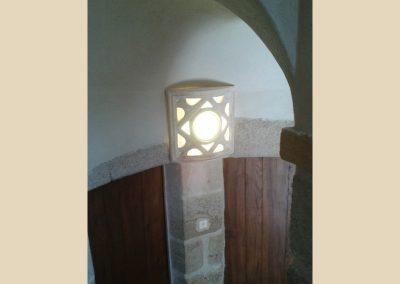 luminaire verre sculpture taille de pierre charente nouvelle aquitaine