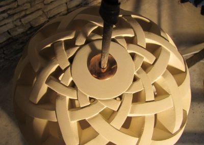 pendule sculpture taille de pierre charente nouvelle aquitaine