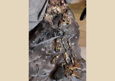 sculpture bronze Volvic taille de pierre charente nouvelle aquitaine