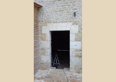 ouverture restauration patrimoine taille de pierre charente