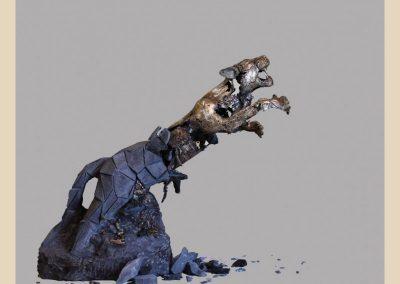 sculpture bronze taille de pierre charente nouvelle aquitaine