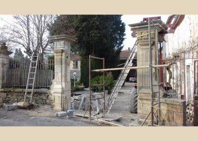 restauration patrimoine taille de pierre charente