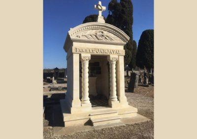 restauration monument funeraire taille de pierre charente