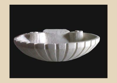 vasque sculpture taille de pierre charente nouvelle aquitaine